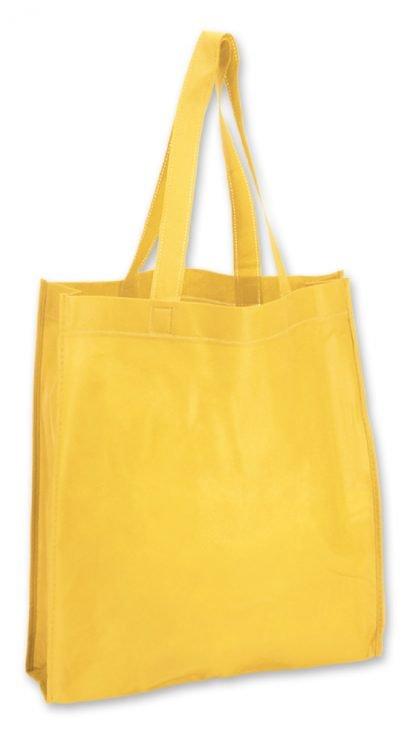 shopper giallo soffietto