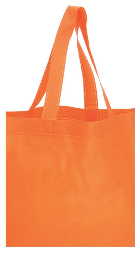 shopper in tnt arancio