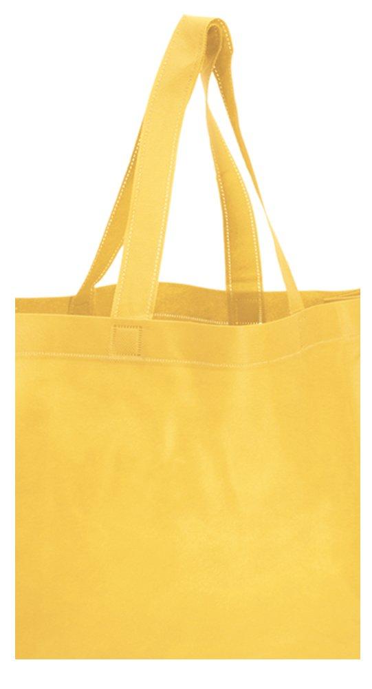 shopper in tnt giallo
